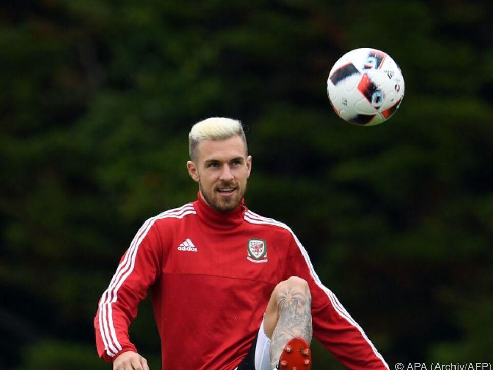 Ramsey laboriert an Muskelverletzung