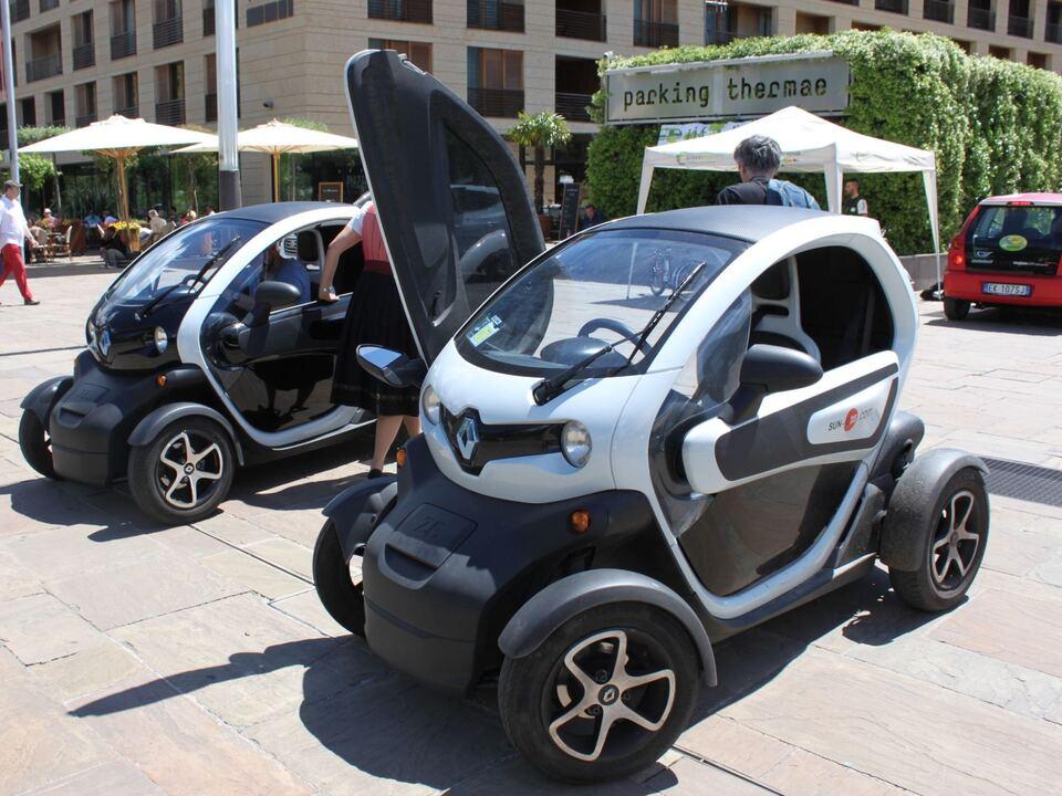 Roadshow Meran E-Car, E-Fahrzeug