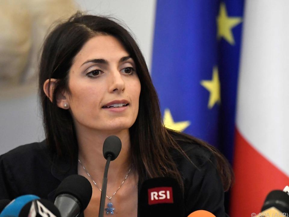Roms neue Bürgermeisterin Virginia Raggi hat sich durchgesetzt