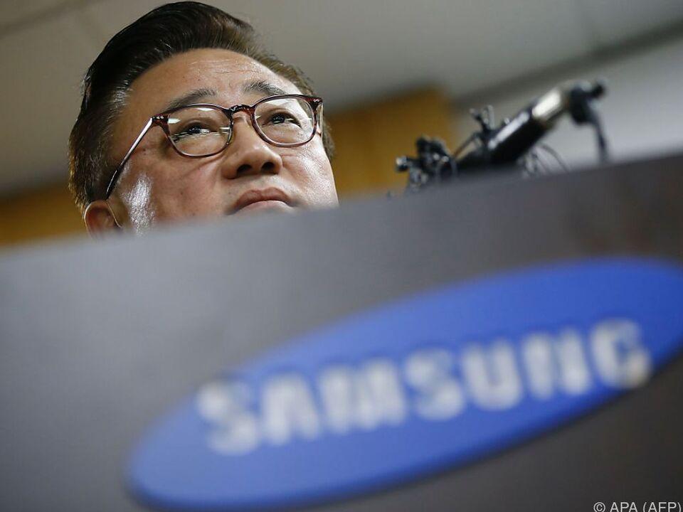 Samsung-Chef Koh Dong-Jin rechnet mit sehr hohen Kosten
