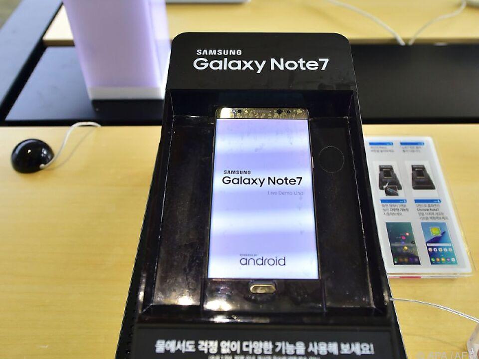 Samsung ruft 2,5 Millionen Handys zurück