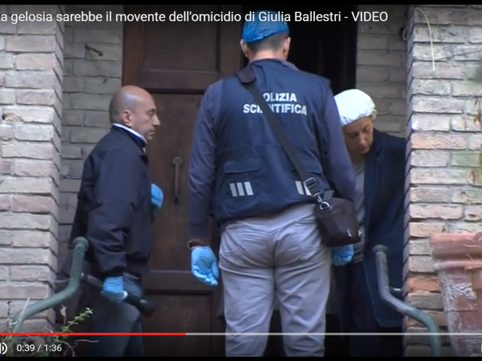 Youtube/Pubblisole - Teleromagna - RAVENNA: La gelosia sarebbe il movente dell\'omicidio di Giulia Ballestri