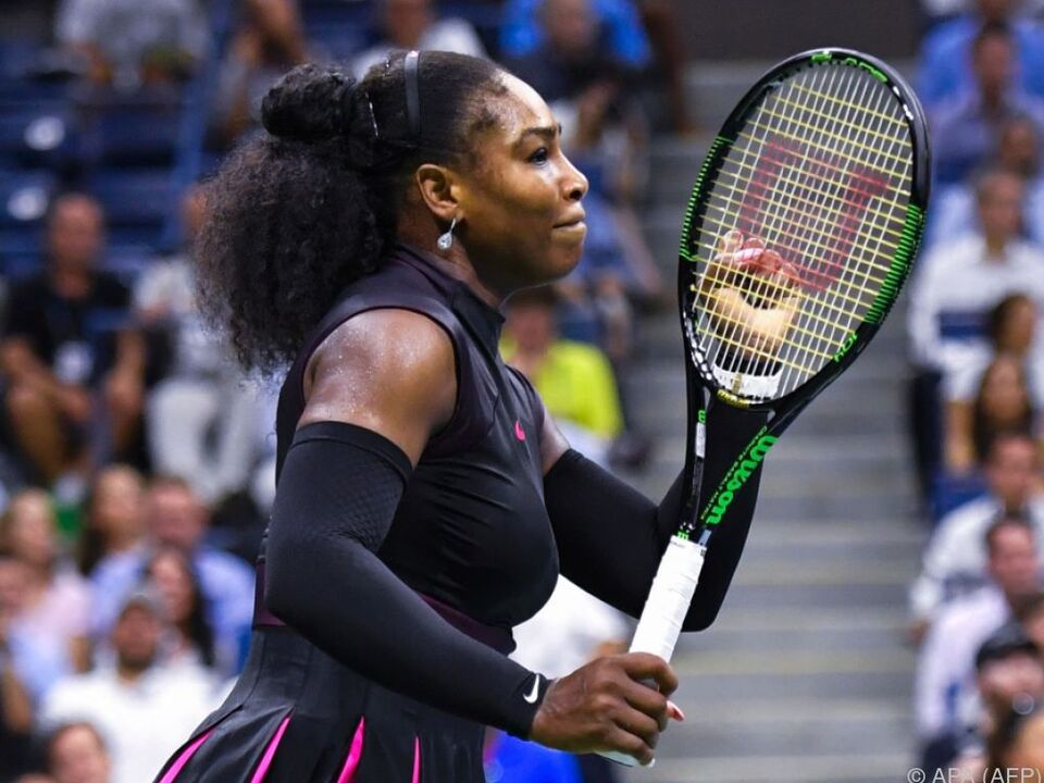 Serena Williams besiegte Simona Halep