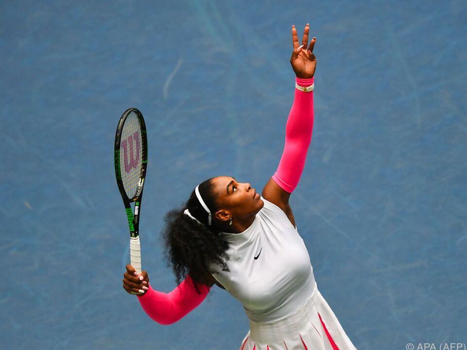 Serena Williams setzte sich gegen Schwedin durch
