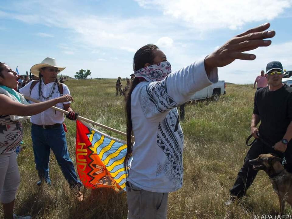 Sioux-Stamm in North Dakota beklagt Zerstörung von Kultstätten