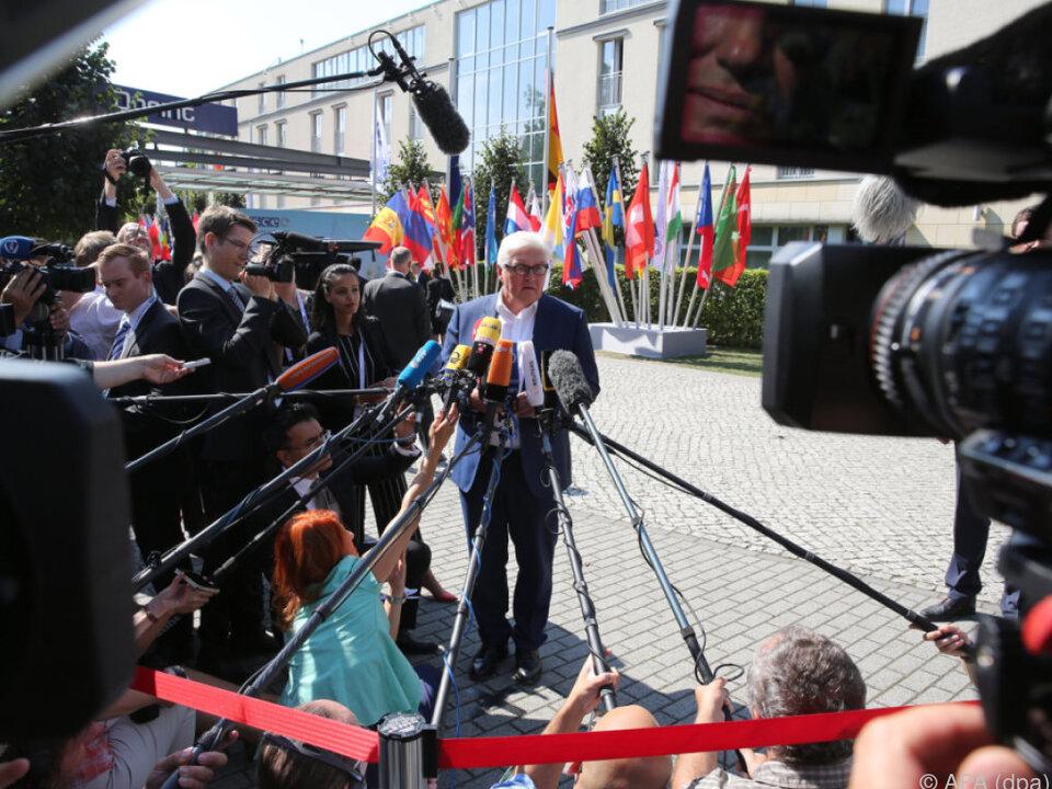 Sondertreffen der OSZE-Außenminister in Potsdam