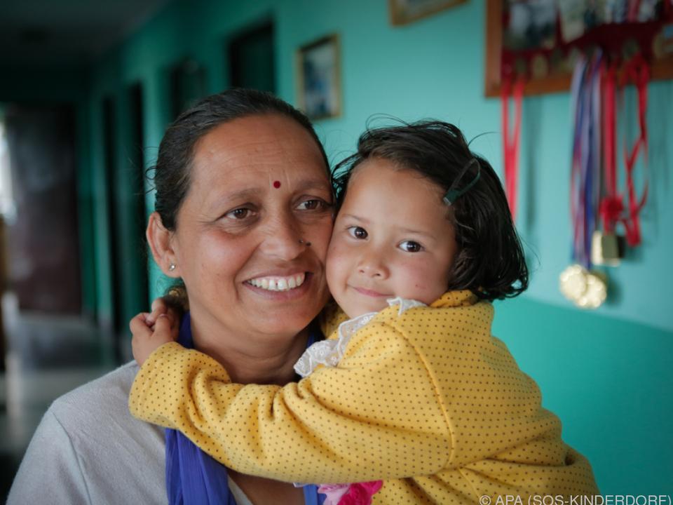 SOS Kinderdörfer helfen weltweit