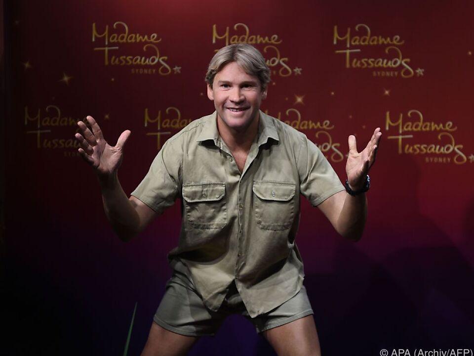 Steve Irwin nur noch als Wachsfigur \