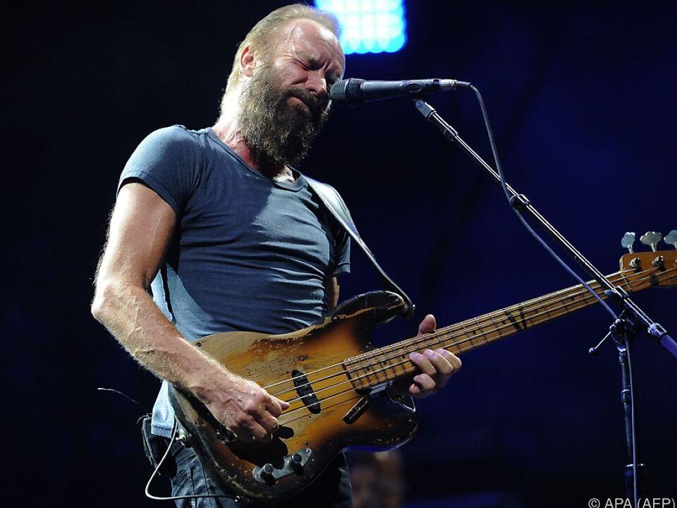 Sting gibt sich wieder rockiger