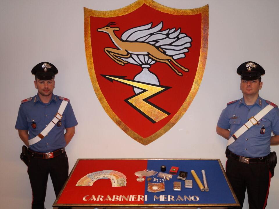 Carabinieri Meran Heroin 2016