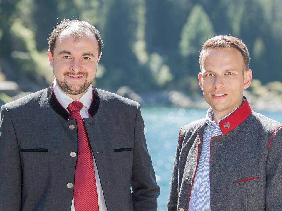 Sven Knoll, Landtagsabgeordneter der Süd-Tiroler Freiheit Stefan Zelger, Sekretär der Landtagsfraktion der Süd-Tiroler Freiheit