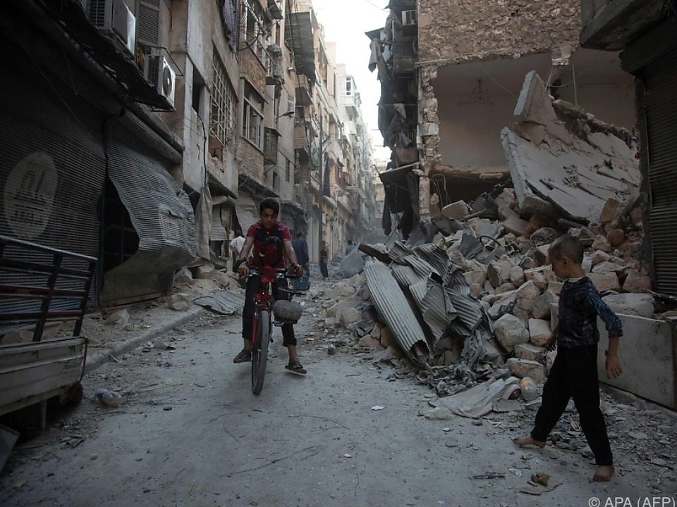 Syrien liegt in Schutt und Asche