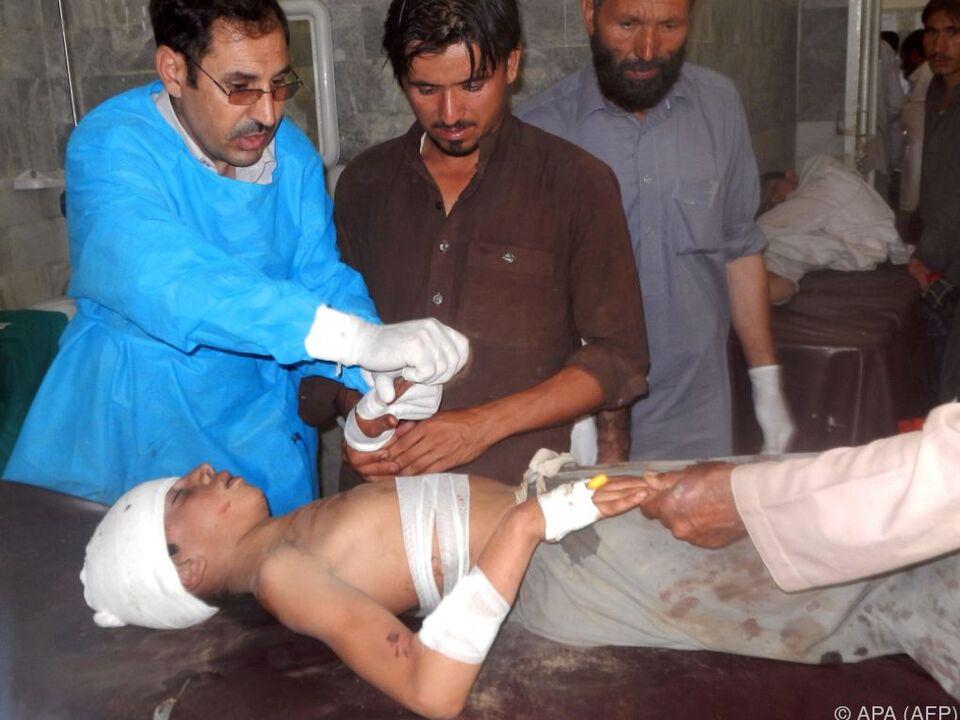 Tote und Verletzte nach Anschlag