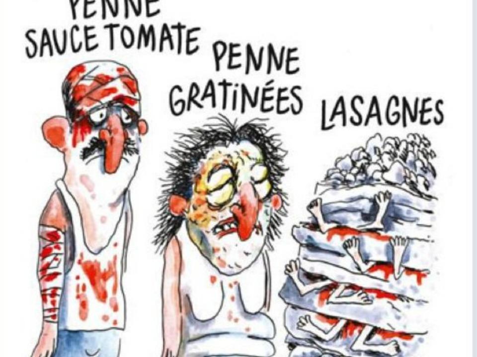 Twitter-Sandro Sabatini-Charlie Hebdo Karikatur