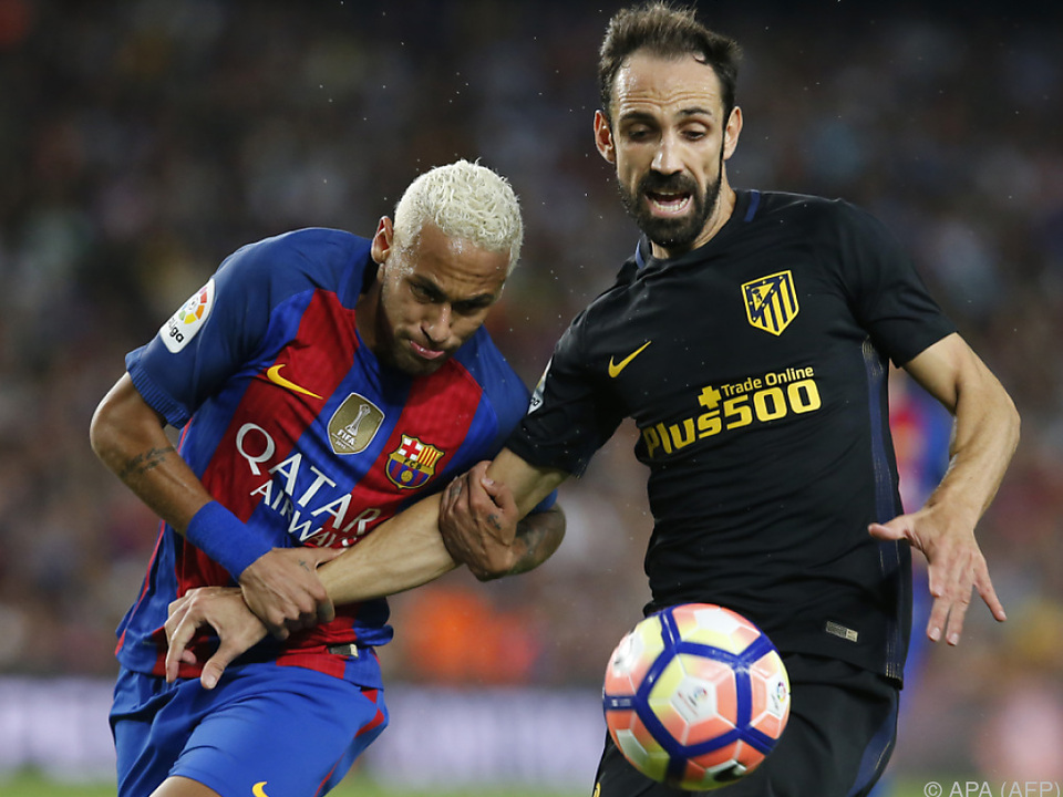 Unentschieden im Spitzenspiel der spanischen Primera Division