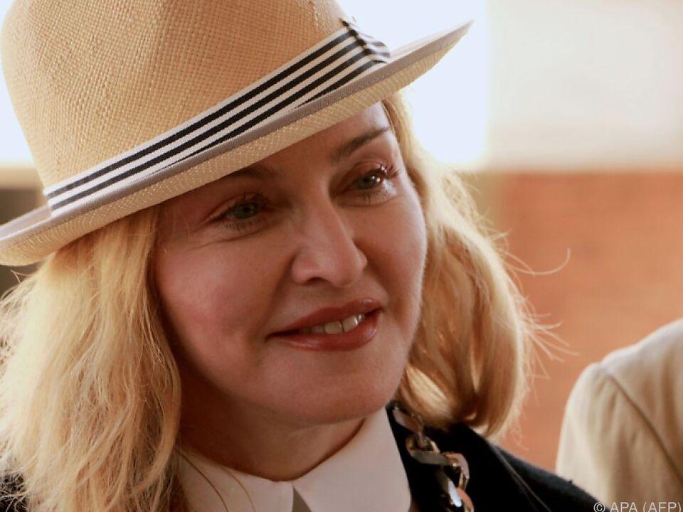 US-Pop-Diva Madonna beendete Rechtsstreit