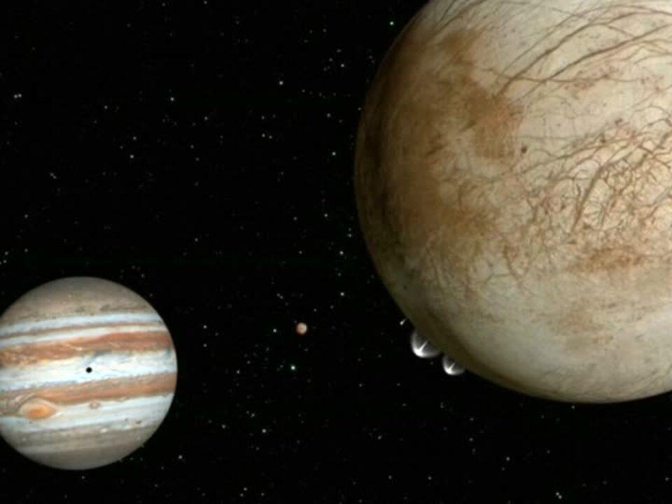 Wasserdampf auf Jupitermond