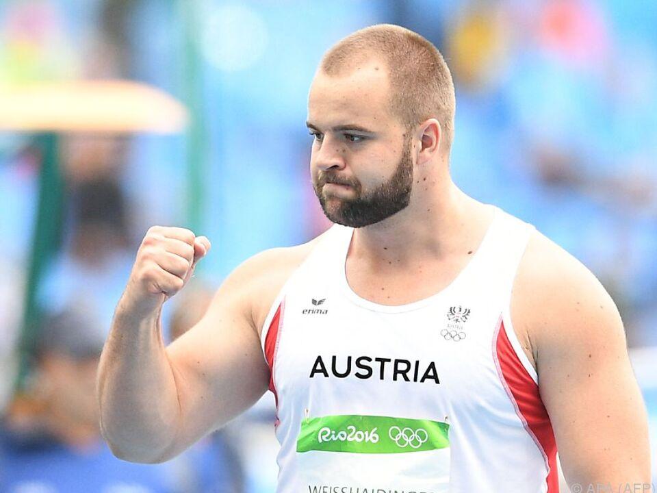 Weißhaidinger wurde bei Olympia 6.