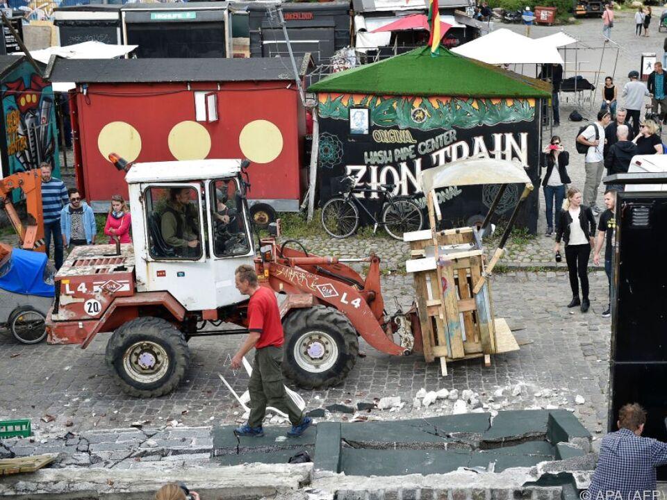 Wirbel in der Hippie-Community Christiania