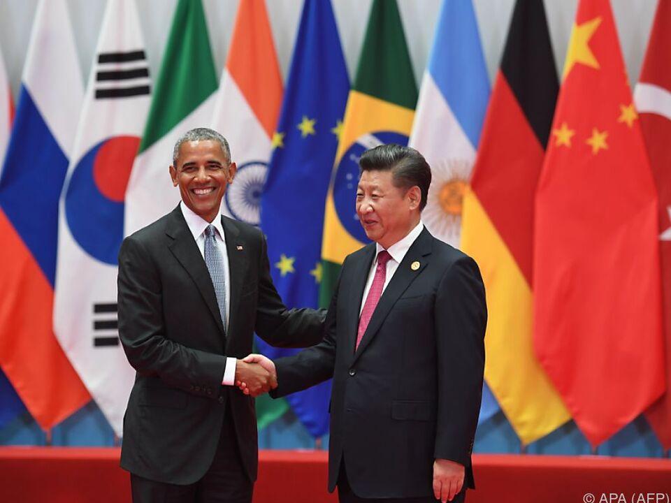 Xi Jinping empfing Obama