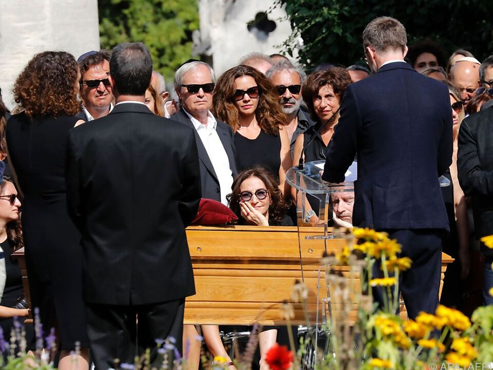 Zahlreiche Trauergäste erwiesen Rykiel die letzte Ehre