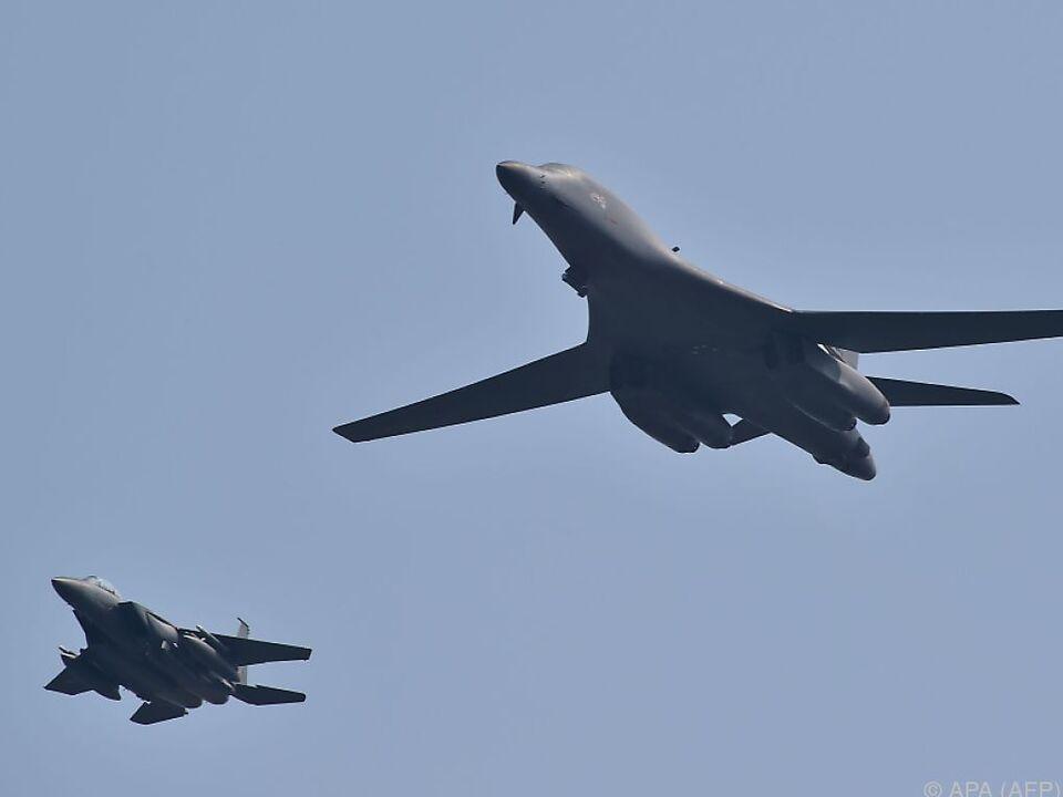 Zeichen der militärischen Stärke und Unterstützung Südkoreas