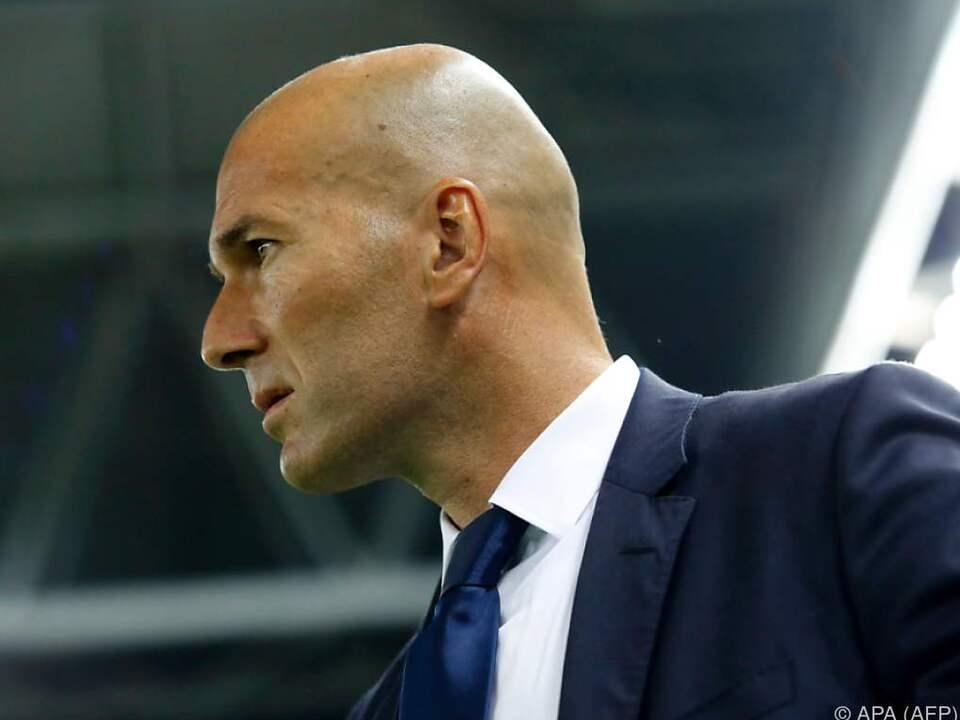 Zidane betreute vorher Reals B-Team