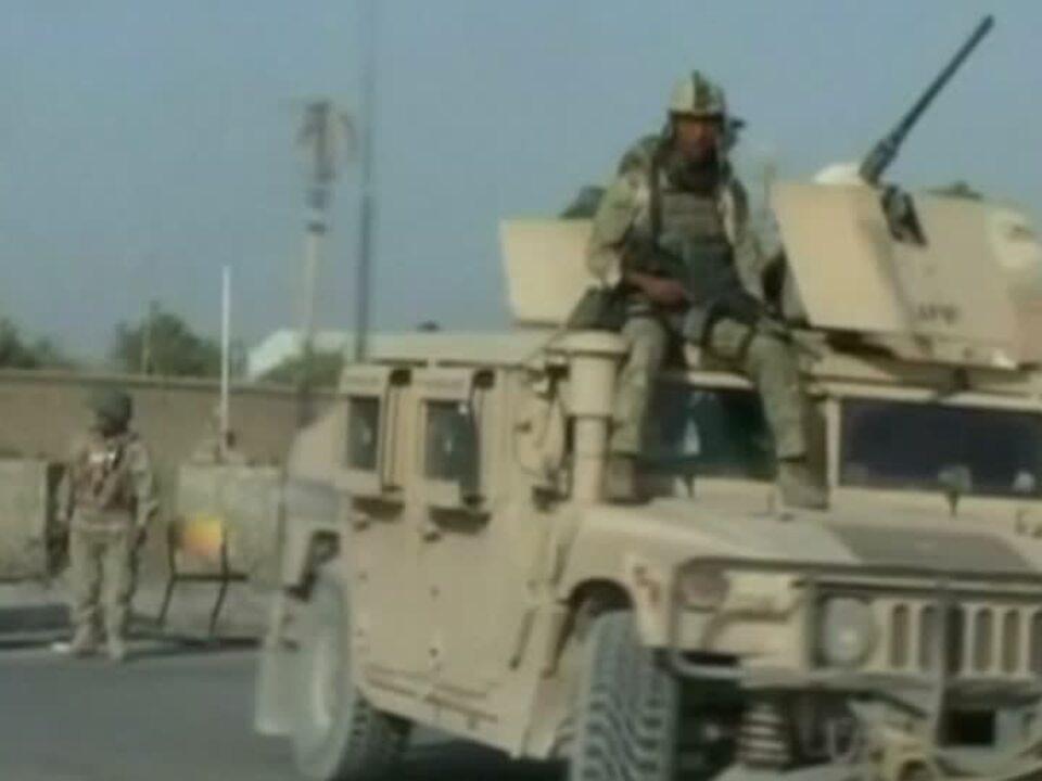 Afghanistans Streitkräfte gehen gegen Taliban in Kundus vor