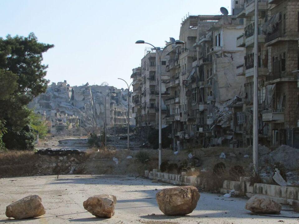 Aleppo wird wieder bombardiert