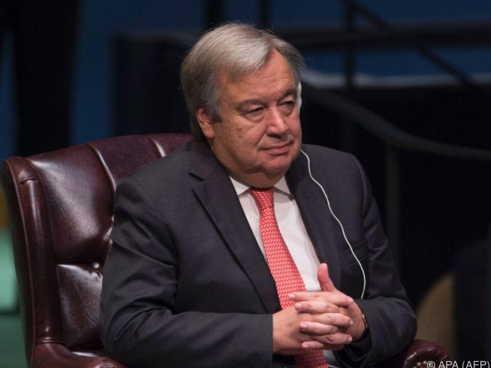 Antonio Guterres folgt Ban Ki-moon nach