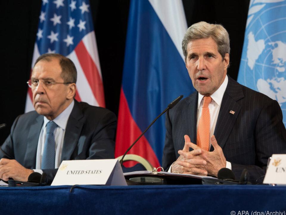 Außenminister Lawrow und Kerry erzielten keine Einigung