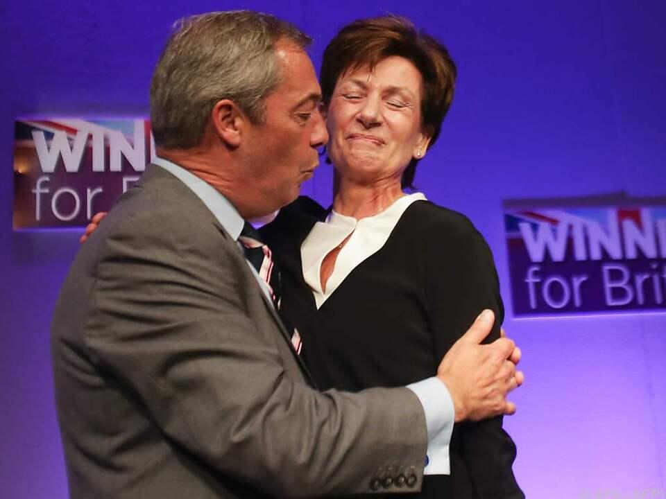 Beerbt Farage seine eigene Nachfolgerin?