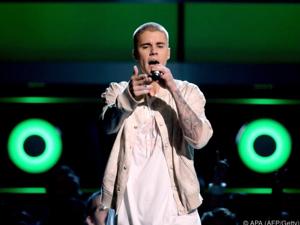 Bieber beschwerte sich über die Schreie der Zuseher