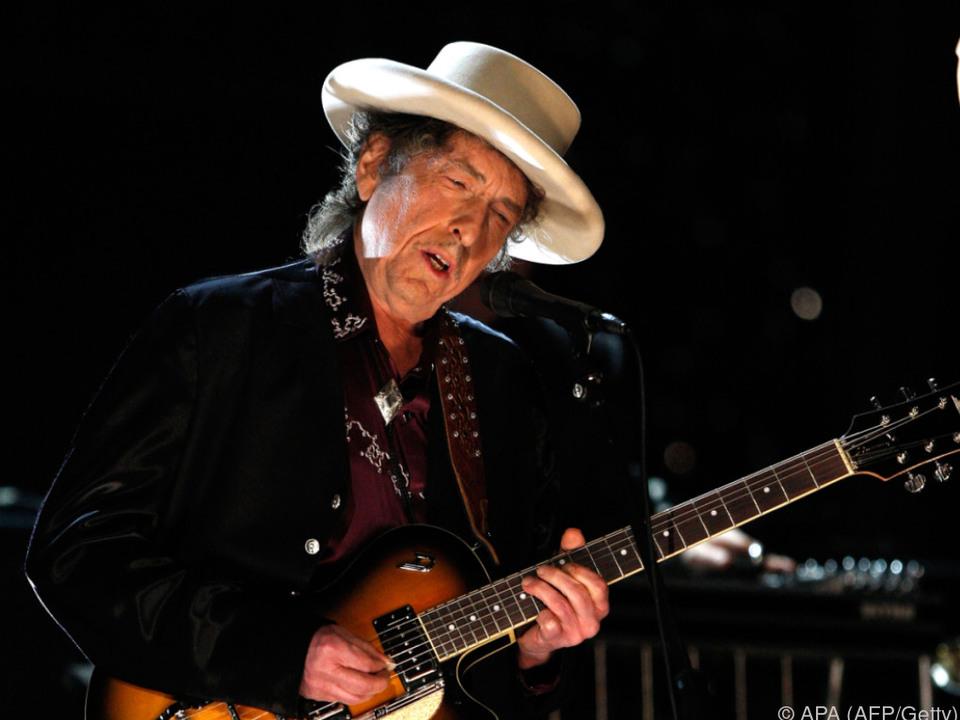 Bob Dylan sparte sich die Reaktion zum erhaltenen Nobelpreis