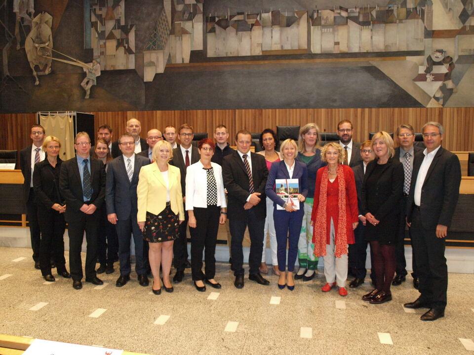 Landtag Brandenburg Delegation