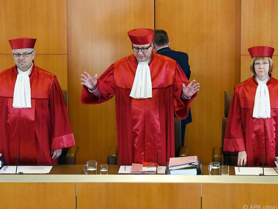 Bundesverfassungsgericht in Karlsruhe hat entschieden