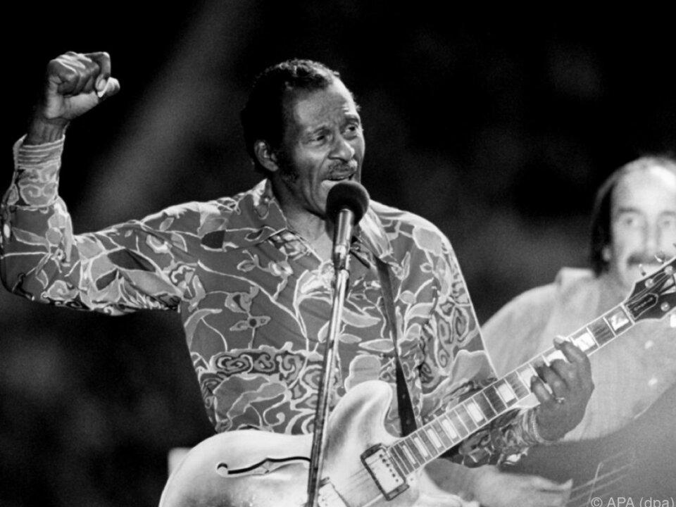 Chuck Berry prägte viele Musiker