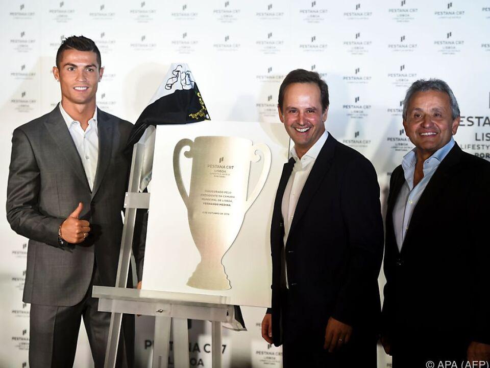 Cristiano Ronaldo hat sich seinen Traum erfüllt