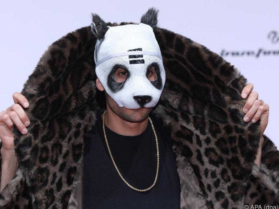 Cro tritt nie ohne Maske auf