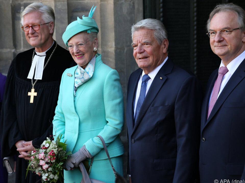 Dänische Königin besuchte Wittenberg