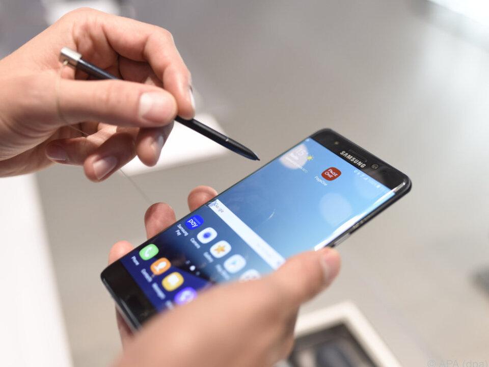 Das Galaxy Note 7 ist für Samsung ein echtes Sorgenkind