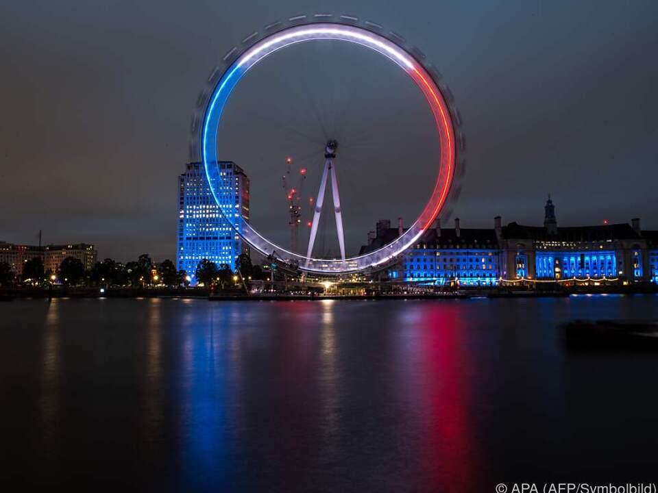 Das London Eye wurde zur Falle
