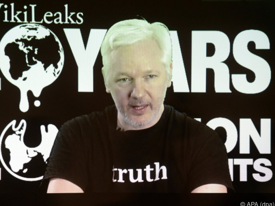 Dem Wikileaks-Gründer wurde die Leitung gekappt