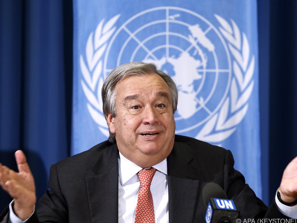 Der Portugiese braucht noch das Okay der UNO-Vollversammlung