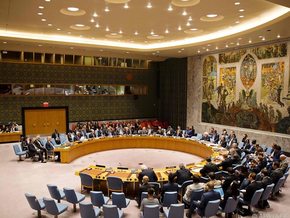Der Sicherheitsrat konnte sich nicht einigen