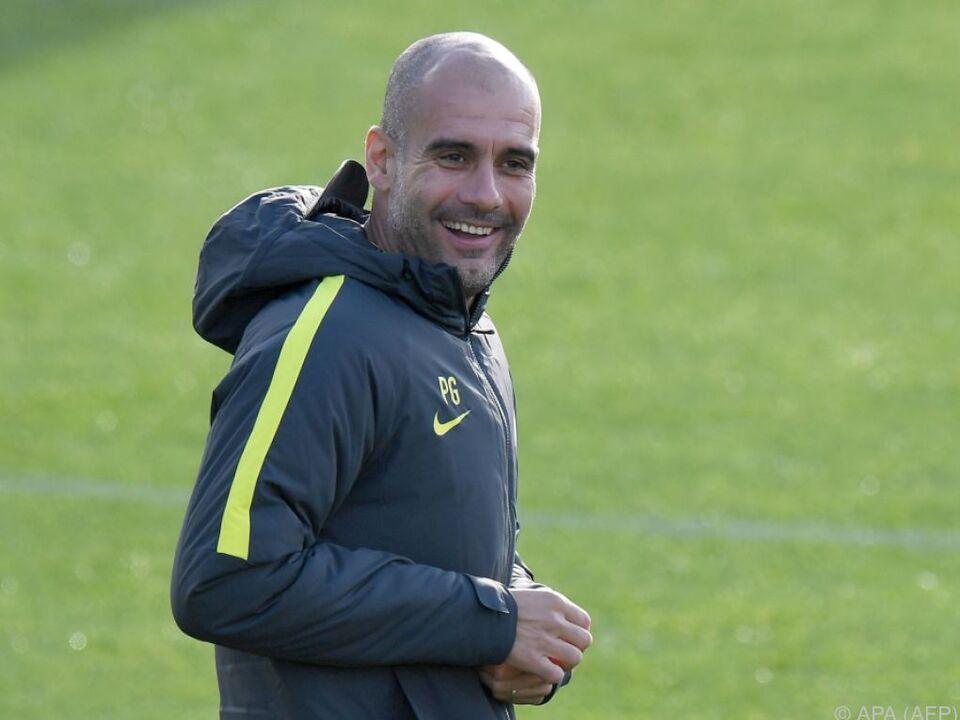 Der Trainer von ManCity kehrt ins Camp Nou zurück