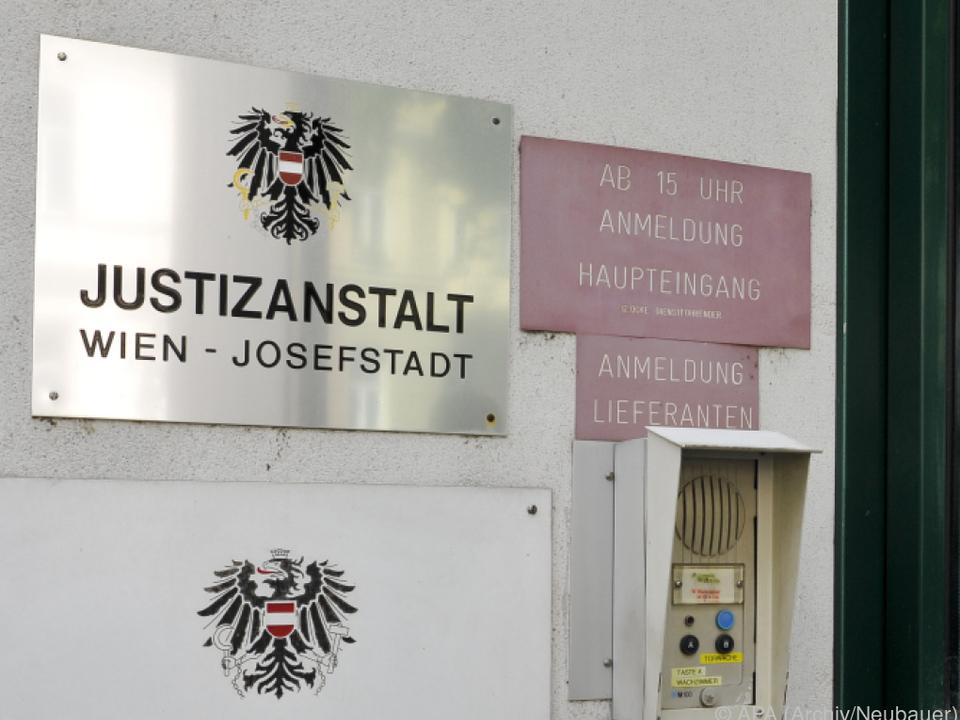 Der Verdächtige bleibt bis zur Verhandlung in der JA Josefstadt