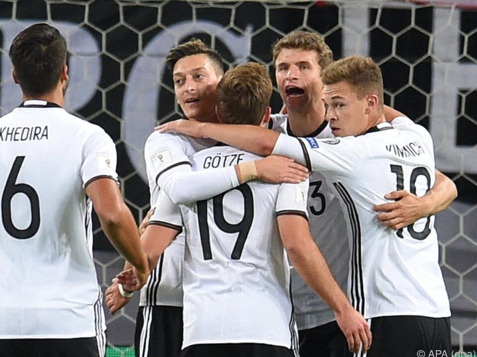 Deutschland legte einen souveränen Start hin