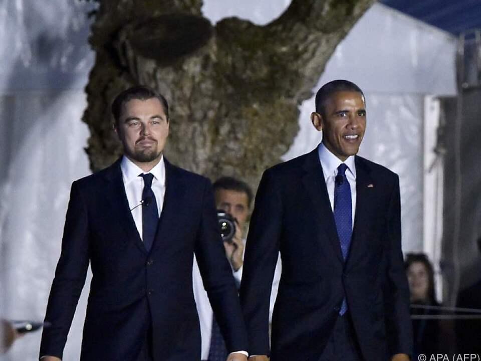 DiCaprio engagiert sich schon lange für Umweltschutz