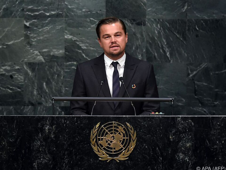 DiCaprio engagiert sich seit Jahren für den Umweltschutz